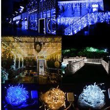 led icicle lights ebay