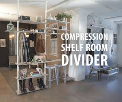 Ceiling Room Dividers by Compression Shelf Room Divider 16 Steps With Pictures