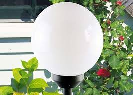 solar globe lights garden home decor solar powered outdoor lights solar globe lights garden