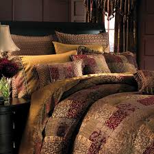 Gold Quilted Bedspread Brown Gold Red Patchwork Curtain Google Search Ideas For The