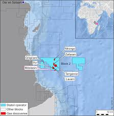 Map Of Tanzania Statoil Makes Its Eighth Discovery In Block 2 Offshore Tanzania