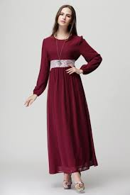 maxi dress long sleeve muslimah and new fashion collection