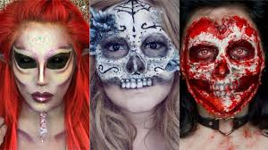 top 30 diy halloween makeup tutorials compilation 2017 youtube