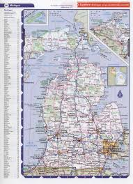 Michigan County Map With Cities by Best Photos Of State Of Michigan Road Map Michigan State Highway