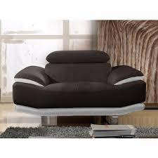 la maison du canape fauteuil cuir osmoz la maison du canapé pas cher à prix auchan