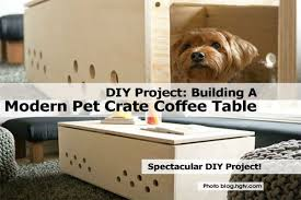 pdf plans dog crate coffee table plans download diy easy bunk bed