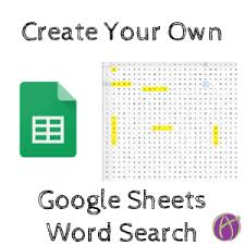 make own word search make your own word search in google sheets teacher tech