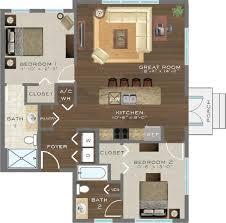 Dartmouth Floor Plans 1 2 U0026 3 Bedroom Apartments For Rent In Celebration Fl