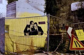 Stencil Giganti by Sfregio A Falcone E Borsellino Imbrattato Il Murales Foto