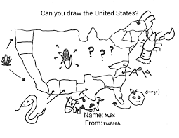 Draw On Google Maps How To Draw Basic Us Map Best 25 United States Map Ideas On