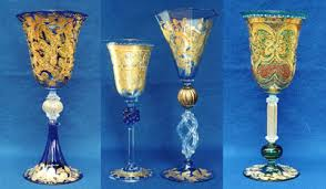 bicchieri boemia in calice varietas