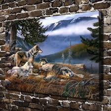 compare prices on wolf art paintings online shopping buy low