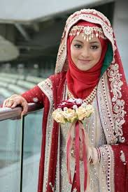 muslim bridal a collection of islamic wedding gowns with hijabiworld