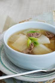 korean radish soup muguk korean bapsang