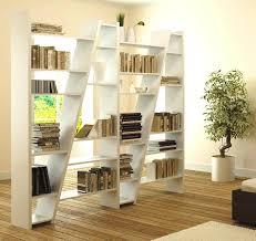 furniture modular room divider design with wooden white color