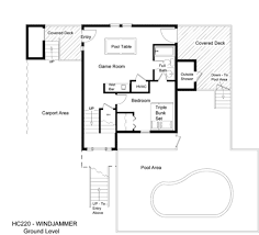 Floor Plan With Garage by Pool House Plans With Garage Arts