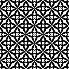 black and white wrapping paper abstract geometric background trendy seamless pattern black and