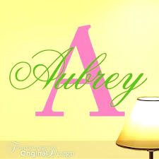 Letter Wall Decals For Nursery Wall Letter Decals For Nursery And Letter Wall Decals Wall Letter
