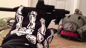 halloween skeleton gloves 2013 fox skeleton gloves youtube