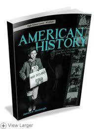 high school history book american history student books high school hslda store