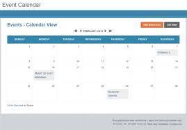 free app online event calendar for any website caspio blog