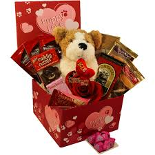 Candy Gift Basket Puppy Love Care Package Chocolate And Candy Gift Box Gift