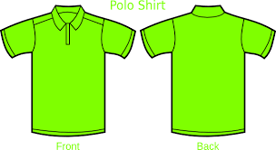 light green polo shirt green polo shirt clip art at clker com vector clip art online
