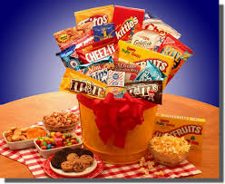 food gift baskets junk food madness gift basket food gift baskets snack gift