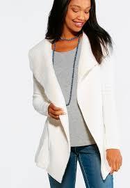 Draped Cardigan Sweater Draped Collared Cardigan Sweater Cardigans U0026 Shrugs Cato Fashions