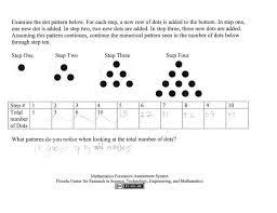 number and shape patterns worksheets grade 5 koogra