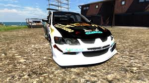 mitsubishi convertible 2003 mitsubishi lancer evolution viii 2003 for beamng drive