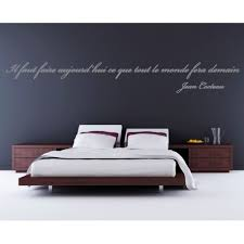 stickers muraux citations chambre sticker citation de jean cocteau stickers citation texte