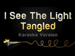 Long As I Can See The Light Chords Tangled I See The Light Karaoke Version Youtube