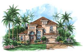 mediterranean homes plans two story mediterranean house plan 66010we architectural