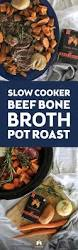 cooker beef bone broth pot roast