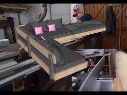 comment faire un canapé en comment fabriquer un sofa canapé d angle partie 1