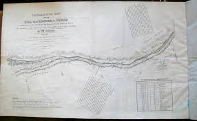 Platte River Map Topographical Map Of The Road From Missouri To Oregon Commencing