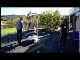 Backyard Ski Lift Mia And Eli U0027s Ski Lift Costume Halloween 2014 Youtube