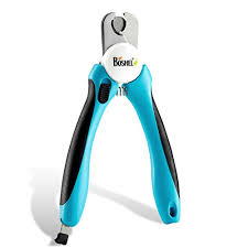 dog nail clippers and trimmer by boshel with safety guard to