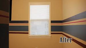 how to paint wall stripes nesting the nursery youtube