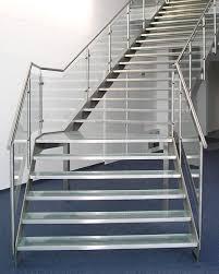 metallbau treppen bartz metallbau treppe glastreppe aus edelstahl und aluminium