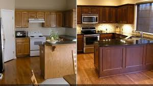 Modernizing Oak Kitchen Cabinets Refinishing Oak Kitchen Cabinets Ilashome