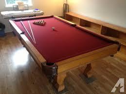 slate top pool table sears slate pool table classifieds buy sell sears slate pool