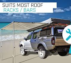 Awning For 4wd 2 5m X 3m Awning Roof Top Tent Camper Trailer 4wd 4x4 Camping Car