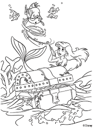 coloring pages of the little mermaid kids n fun com 34 coloring pages of ariel the little mermaid