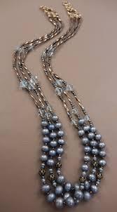 swarovski crystal necklace design images Cultured freshwater pearl and swarovski aquamarine crystal JPG
