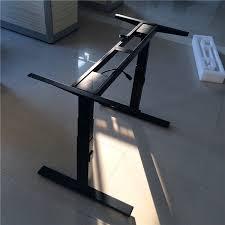 bureau motorisé en acier métal bureau table bureau motorisé électrique réglable en