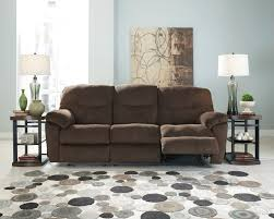 ashley slidell reclining sofa and love dream rooms furniture