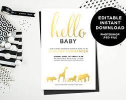 Design Invitations Invitations And Graphic Design By Cieradesign On Etsy