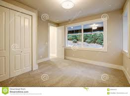 empty room interior in new construction home stock photo image